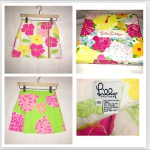 2 Lilly Pulitzer Skirts w/ Lilly Box